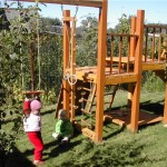 Детский-игровой-комплекс-для-дачи