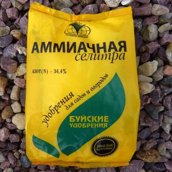 Аммиачная селитра – отличное комплексное удобрение для грибов