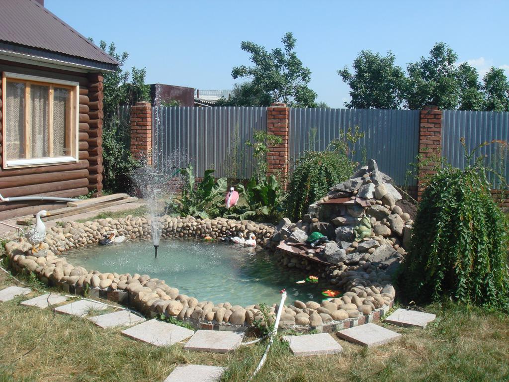 Бассейны, фонтаны, водоемы
