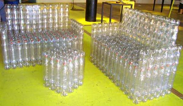 Как сделать своими руками мебель из пластиковых бутылок 92