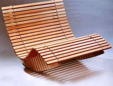 Дачное кресло-качалка