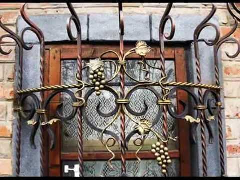 Дачные решетки на окна могут быть настоящими произведениями искусства