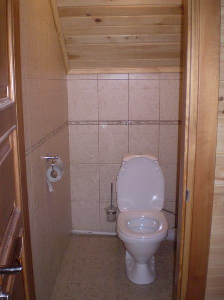 Дачный туалет вполне может быть чистым и удобным.