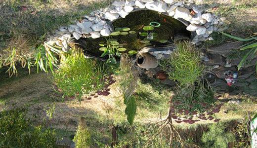 Даже совсем маленькие искусственные водоемы на даче украсят ландшафт и сделают отдых более результативным
