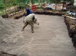 До заливки бетона котлован нужно подготовить