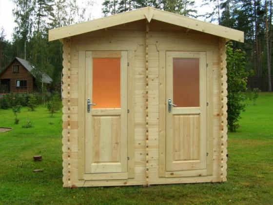Дуэт – садовый туалет-душ