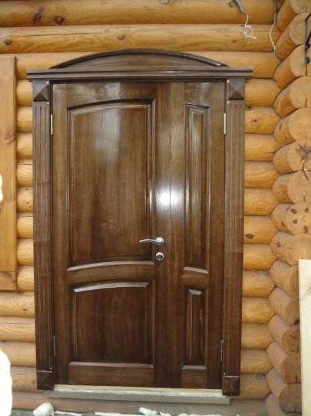 Двустворчатые входные металлические двери для дачи