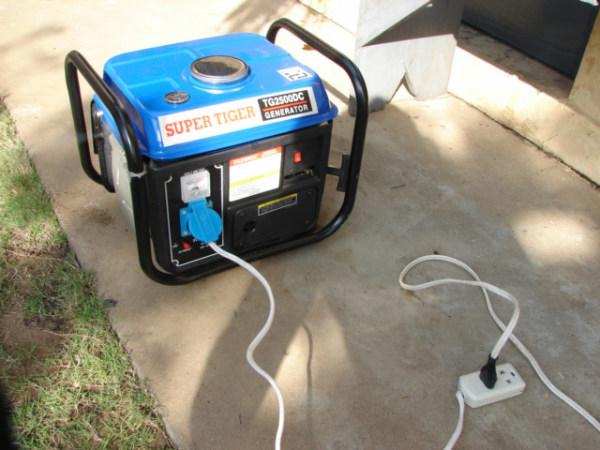 Электроснабжение дачного участка с помощью портативного генератора