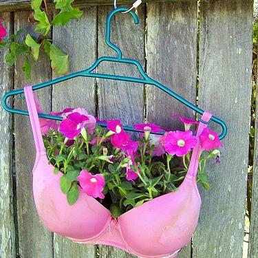 Элементарные вещи могут стать поражающим садовым украшением
