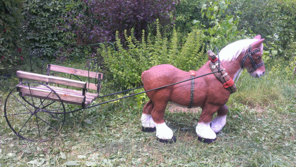 Еще один вариант лошадки