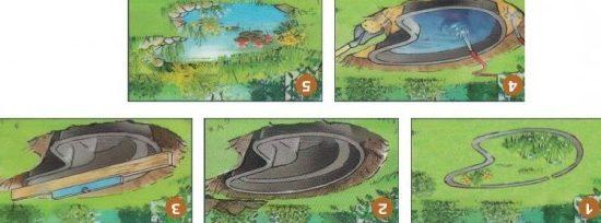 Этапы монтажа пластикового резервуара