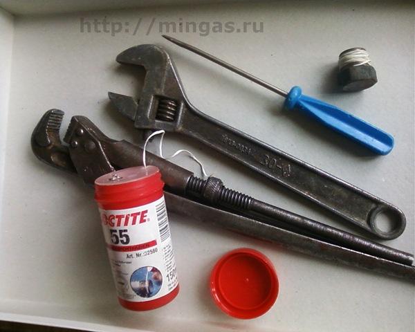 Эти инструменты будут нужны.
