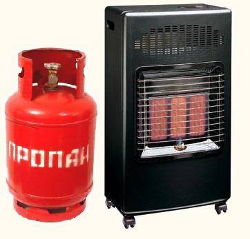 Газ – эффективное топливо для обогрева дачи