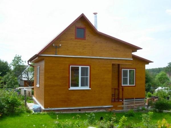 Готовый каркасный домик