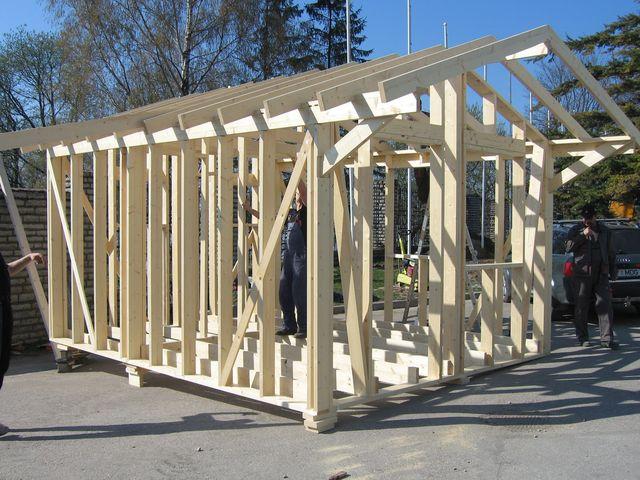 Строить сарай своими руками строить