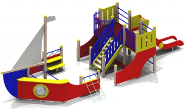 Игровой комплекс для детей до шести лет