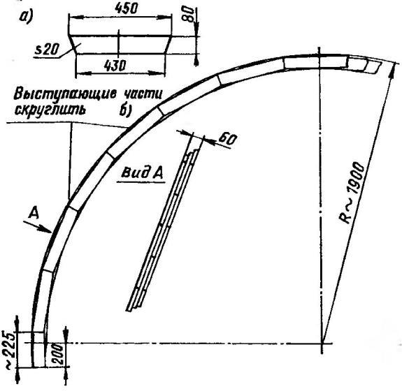 Изготовление деревянной арки
