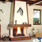 Печи для обогрева дачного дома на дровах
