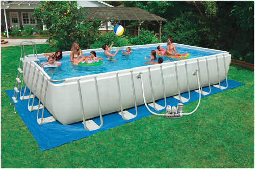 Каркасная купальня станет радостью для взрослых и детей.