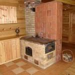 Кирпичная печь для дачи