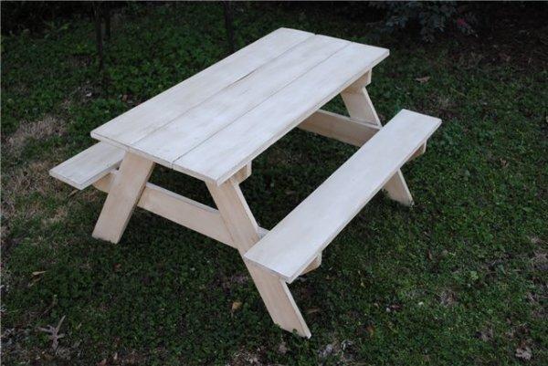 Комбинированный столик на дачу своими руками