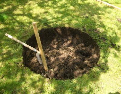 Копаем колодец на даче самостоятельно