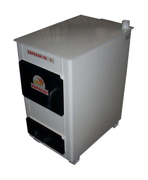 Котел для водяного отопления на твердом топливе