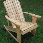 Кресло-качалка для дачи