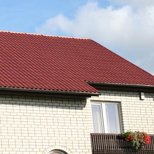 Крыша дачного домика