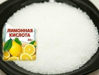 Лимонная кислота используется в качестве подкормки клюквы