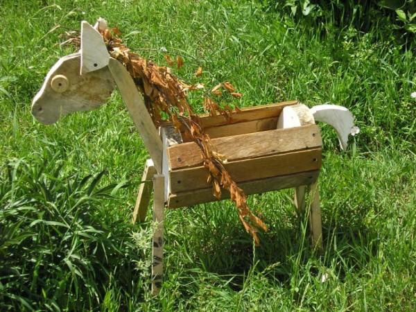 Лошадка, сделанная своими руками