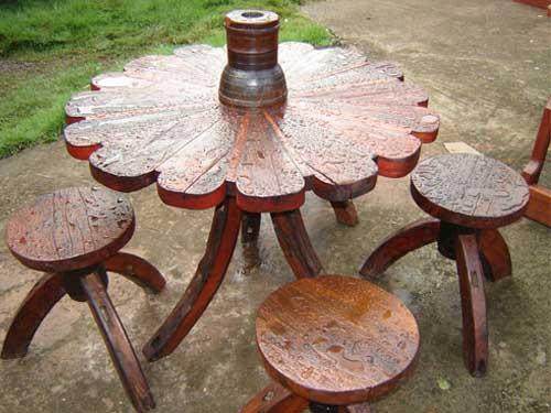 Лучшую садовую мебель можно сделать только самому