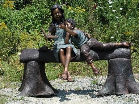 Медная скульптура