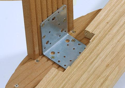 Метизы для сборки деревянных конструкций