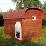 Мини-баня для дачи