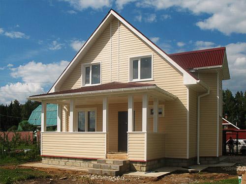 Проекты дачных домов из пеноблоков: видео-инструкция по монтажу