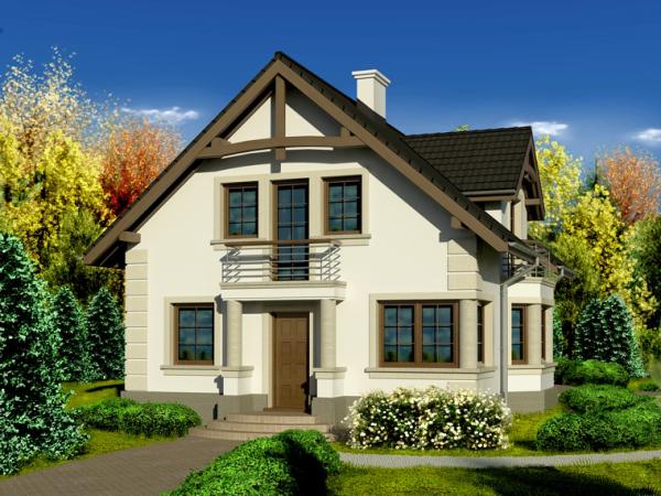 На фото демонстрируется жилой дом на территории садового товарищества.