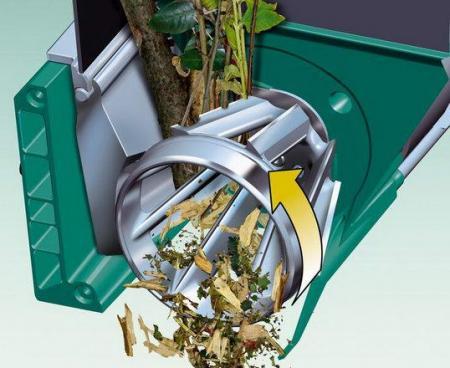 На фото показано устройство фрезерно-турбинного ножевого механизма.