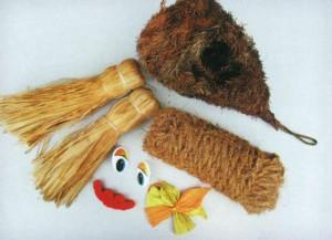 Набор необходимых материалов для куклы