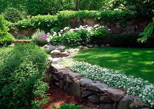 Новое в дизайне сада – утопленные сады