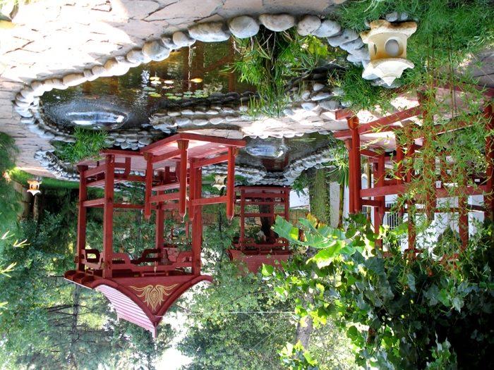 Оформление водоема в китайском стиле