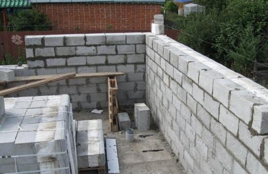 Фото строим гараж своими руками