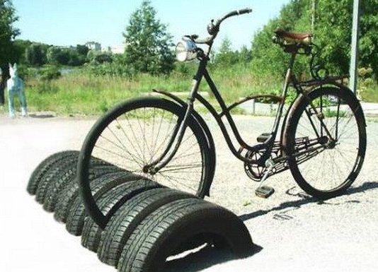 Отличная стоянка для вашего велосипеда