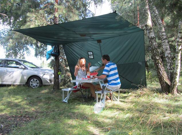 Как построить шатер своими руками из пластиковых труб