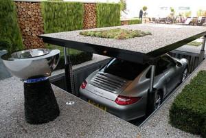 Парковка для машины – важная постройка на даче