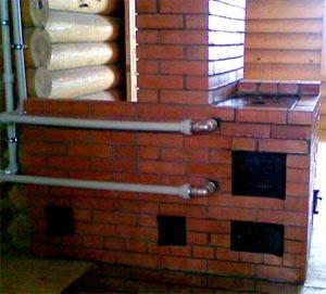 Водяное отопление на даче