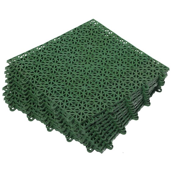 Пластиковые элементы для укладки покрытия на твердое основание.