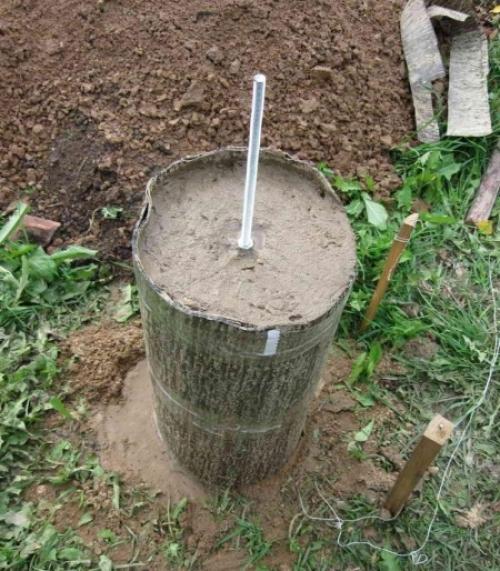 Плотный рубероид может заменить опалубку