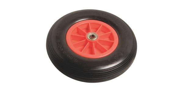 Пневматическое колесо Lux диаметром 400 мм с полиуретановой покрышкой. Стоимость - 4799 рублей.