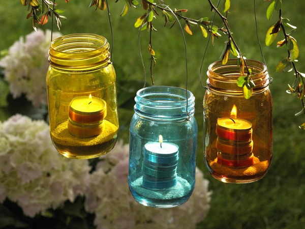 Подвесной садовый фонарь своими руками